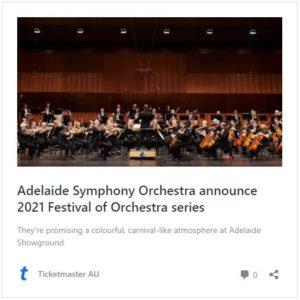 Hybrid Concert by Australian orchestra